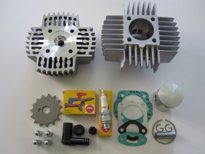 Cylinder kit Puch Maxi 45mm. 70 cc.