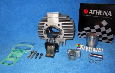 Cylinder Puch Athena 70cc membran insug 20 mm ( race !!! )