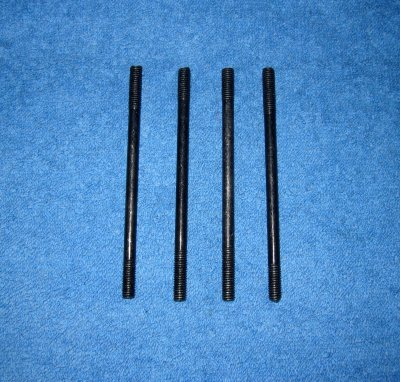 Cylinderpinnbultssats M6 x106 mm